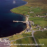Mid Yell, coastal settlement on the island of Yell, the second-largest, Shetland Islands, Scotland